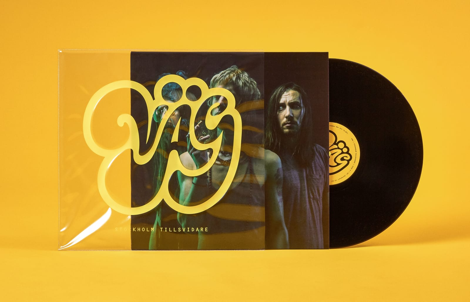 Logotype, identity and album cover for the swedish rock band Väg, formerly known as Road