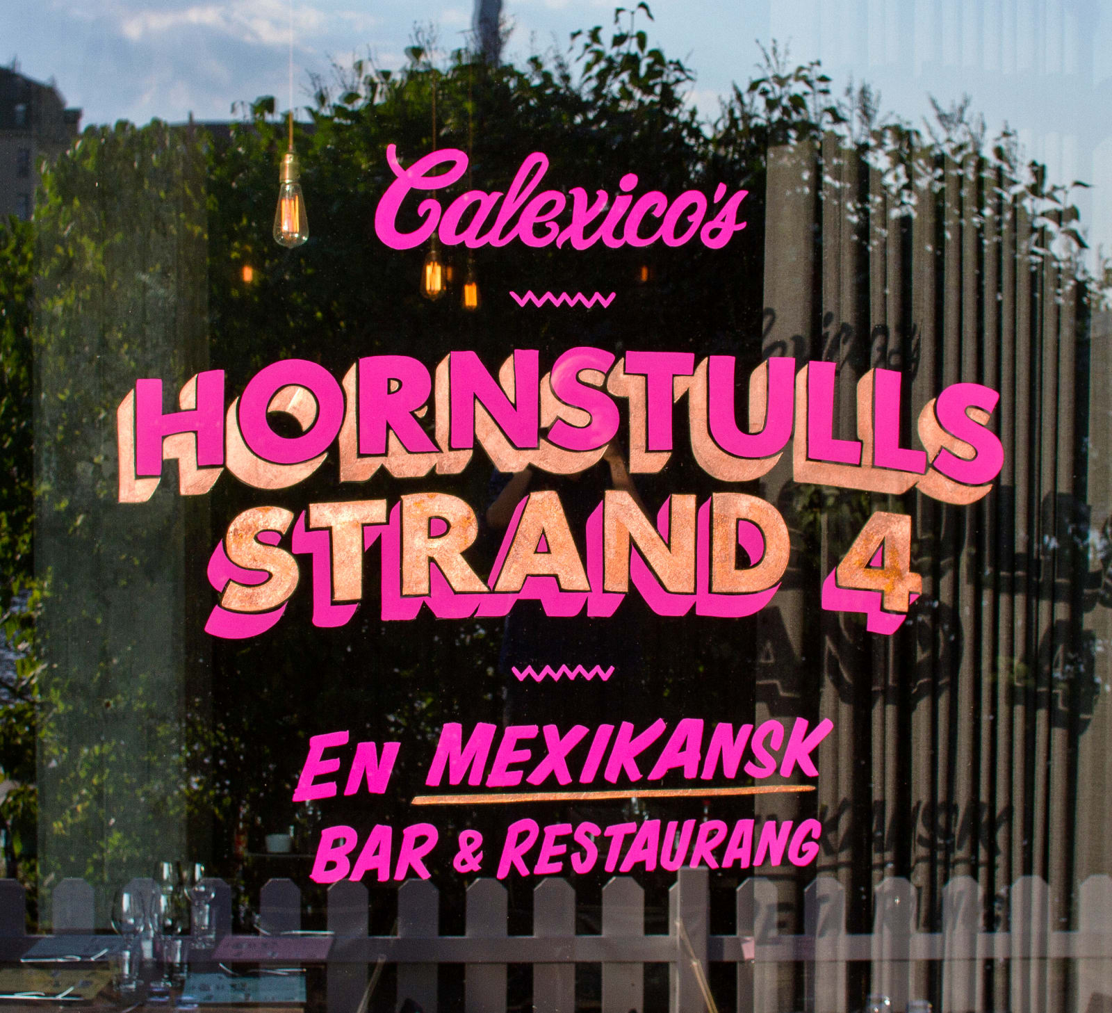 CALEXICO'S — Identity, art direction and type design for a Mexican restaurant in Stockholm